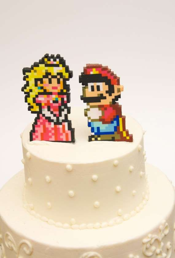 Geeky Gamer Cake Toppers Studio Sweets
