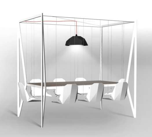Playground Dining Furniture Swing Table