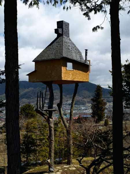 Tea Houses On Stilts Terunobu Fujimori Designs The