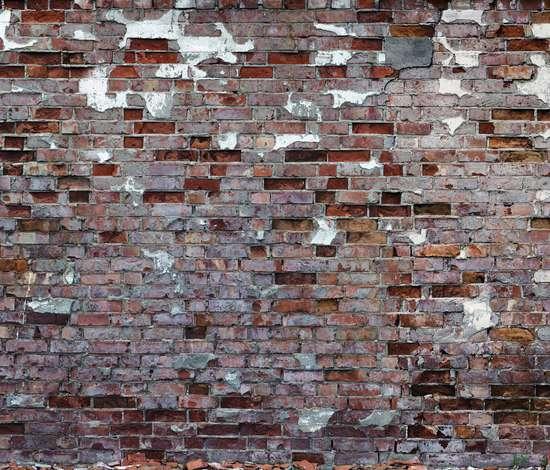 Exposed Brick Adornments Tom Haga Attic Wallpaper