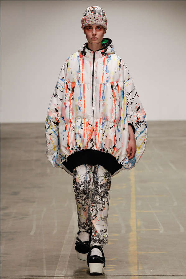 Urban Graffiti Runways Tom Van Der Borght Fall Winter