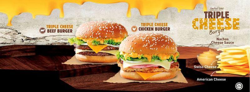 Chicken Burger Grilled Cheese