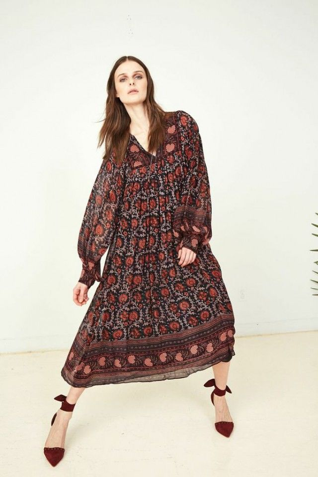 Luxury Bohemian Collections Ulla Johnson Fall