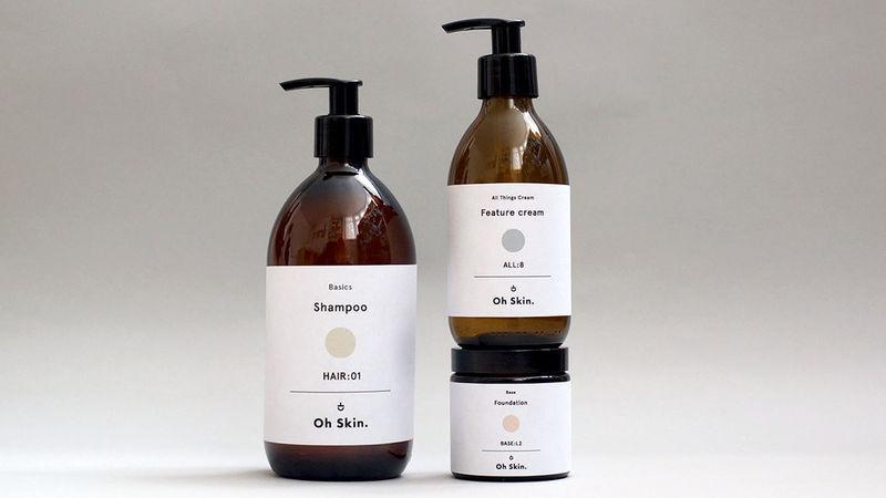 Unisex Cosmetic Packaging Unisex Cosmetic