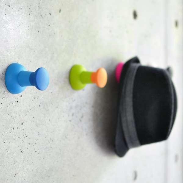 Push Pin Wall Hooks Wall Hooks