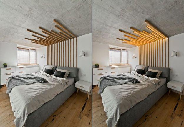 illuminating wooden headboards : wooden headboard