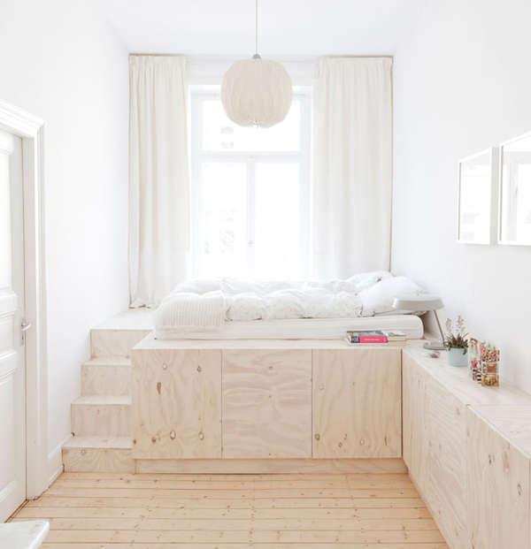 Peaceful Minimalist Living Spaces Zen Bedroom