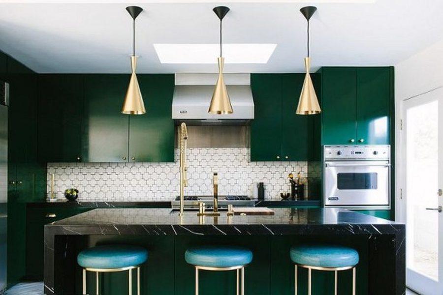 Kitchen Interior Design Green
