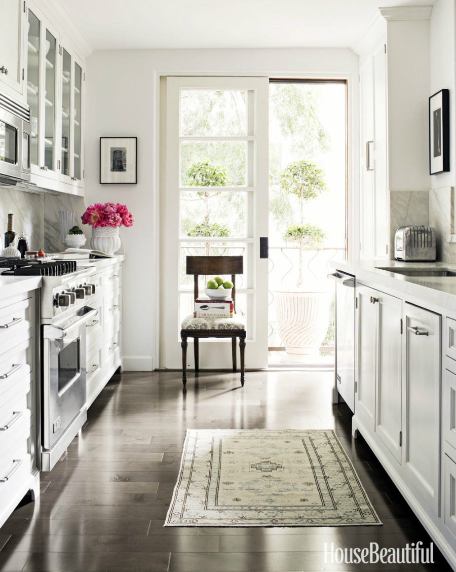 Beautiful White Galley Kitchen Designs Kitchen Design