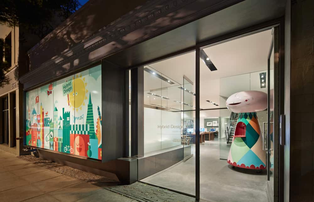 Creative Office Design In San Francisco With A Frosted