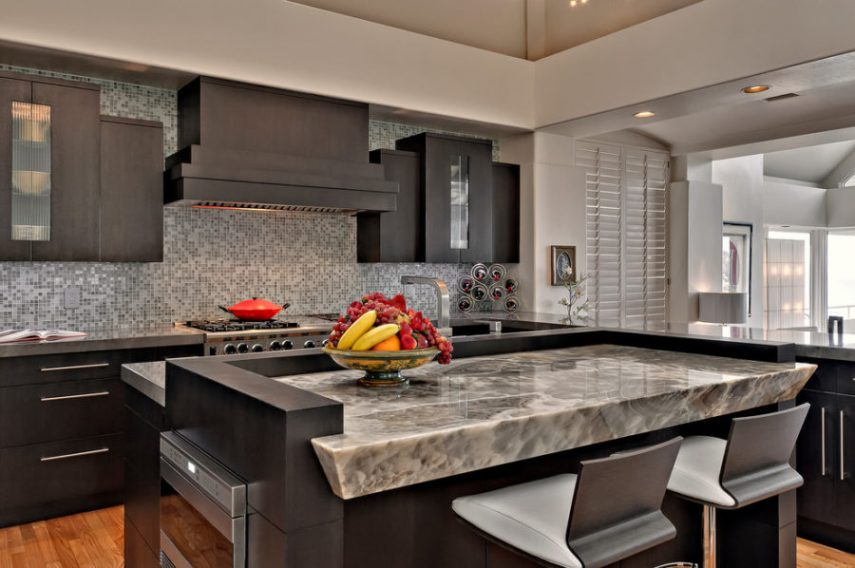 Trends and Novelties  Unusual Kitchen Countertops View in gallery Onyx kitchen countertop