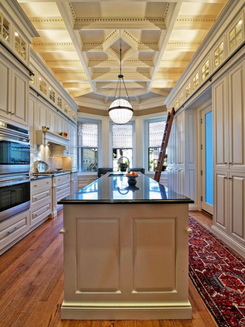 Coffered ceiling by Dave Stimmel