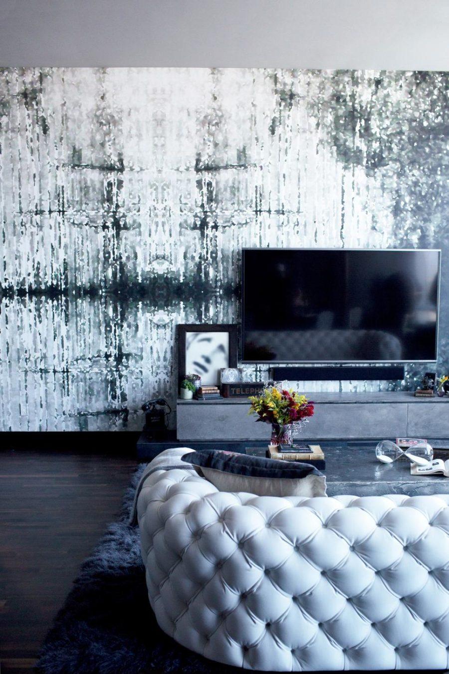 Dark Gothic Living Room