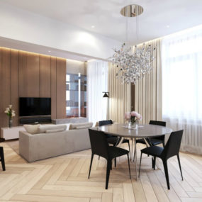 11 Refined Elegance In Moscow Apartment By Shamsudin Kerimov