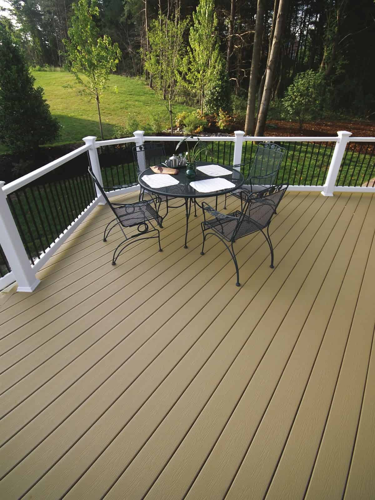 to spruce your outdoor space with paint