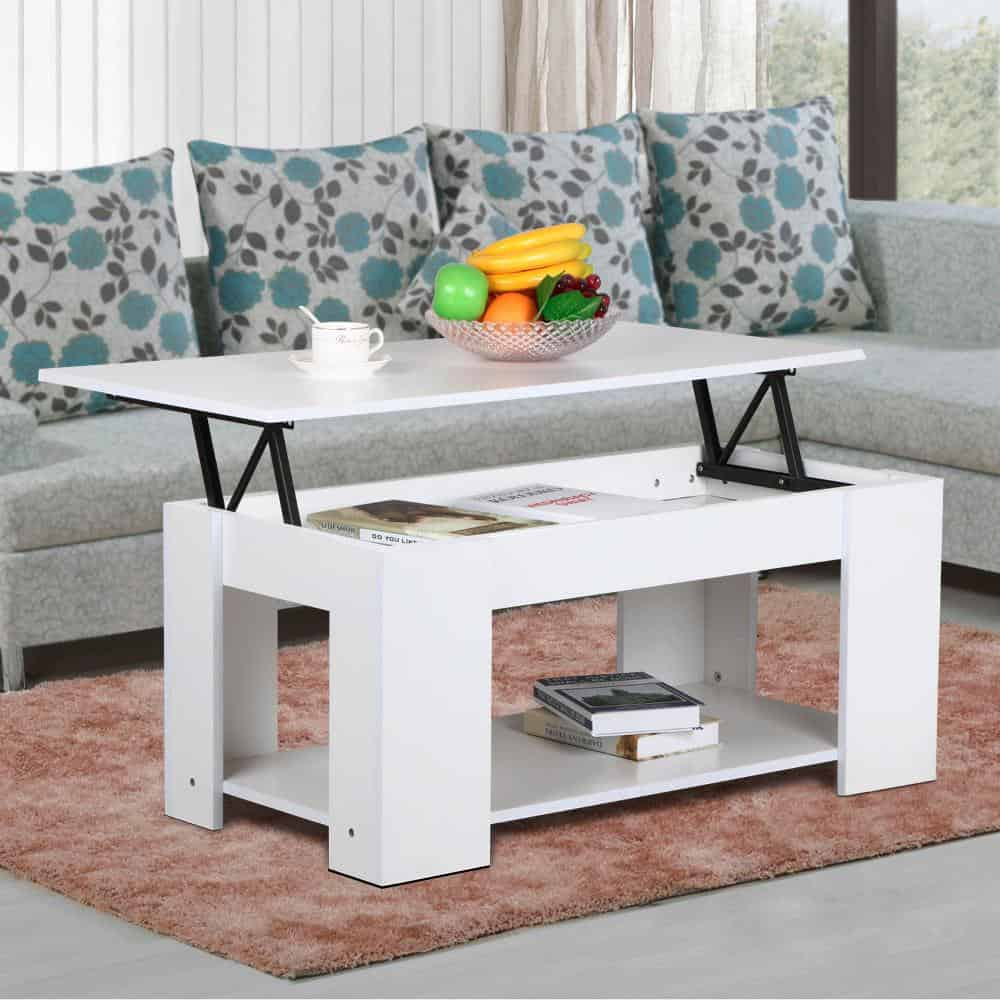 15 Lift Top Coffee Tables To Help Organize Your Space
