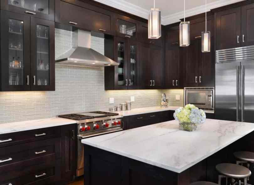 dark wood cabinets Modern Cabinet Ideas Every Minimalist Will Love