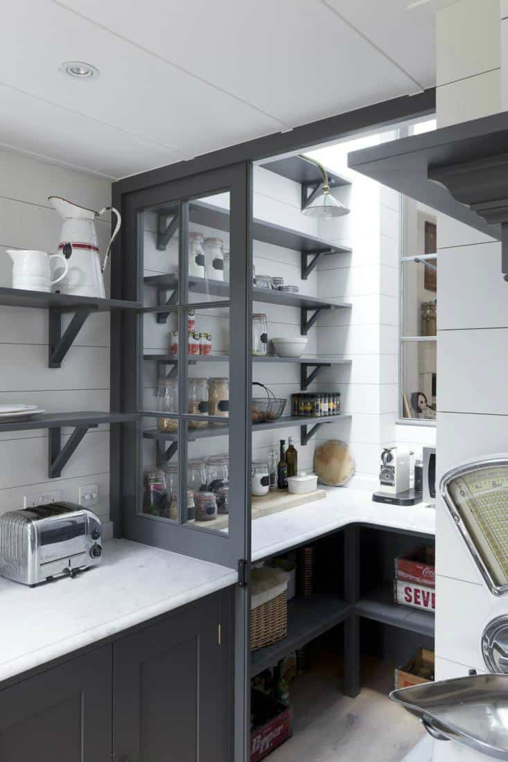 kitchen with pantry Stylish Ways To Keep Your Home Organized