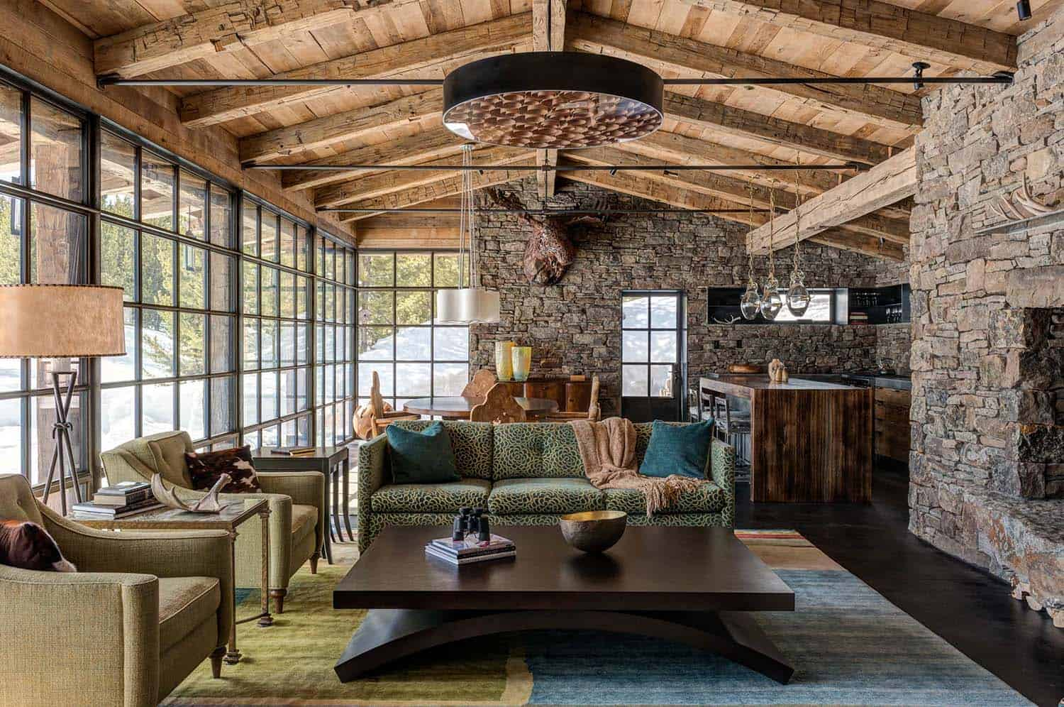 Rustic Living Room Ideas For A Cozier Touch