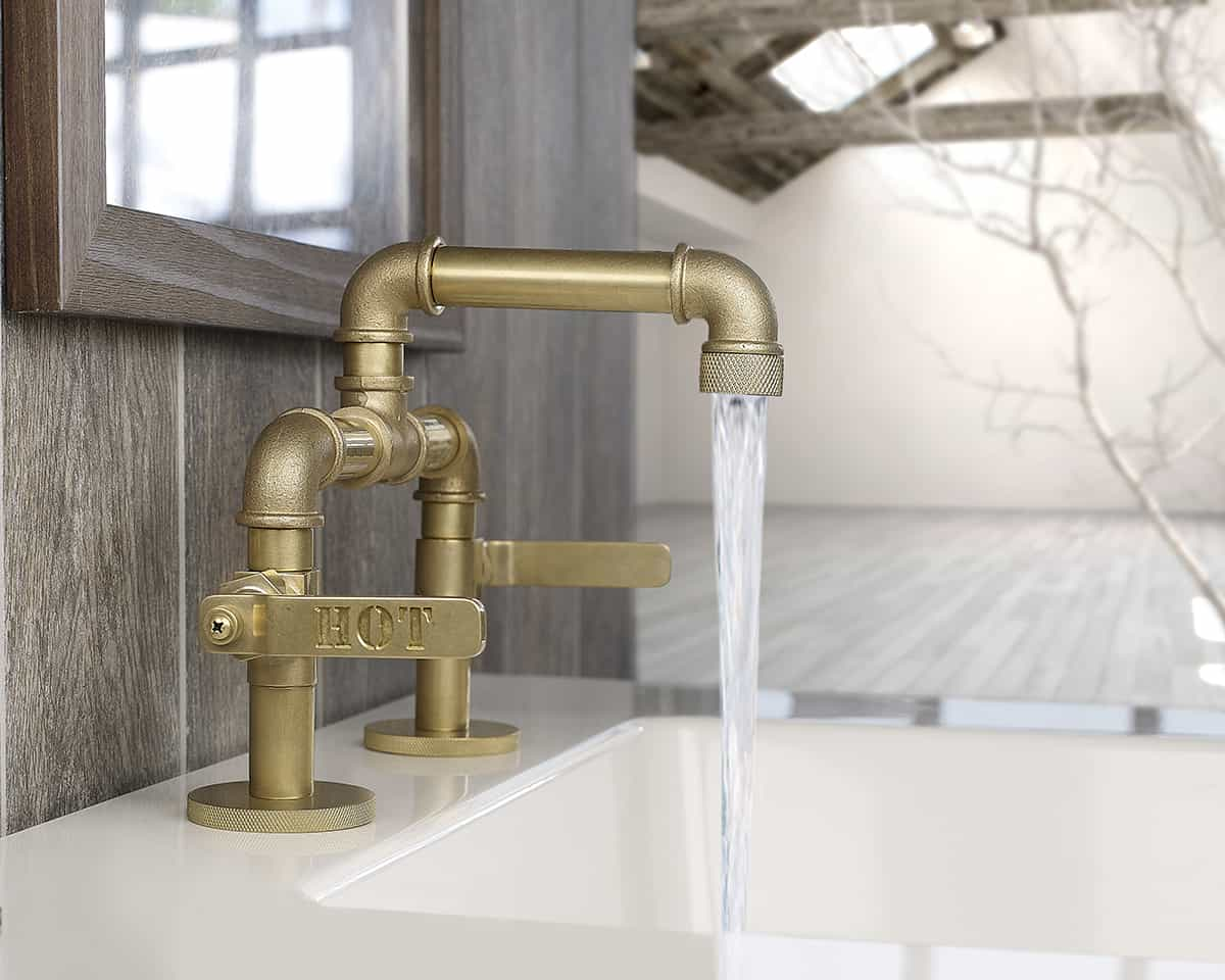 title | Industrial Style Kitchen Faucet