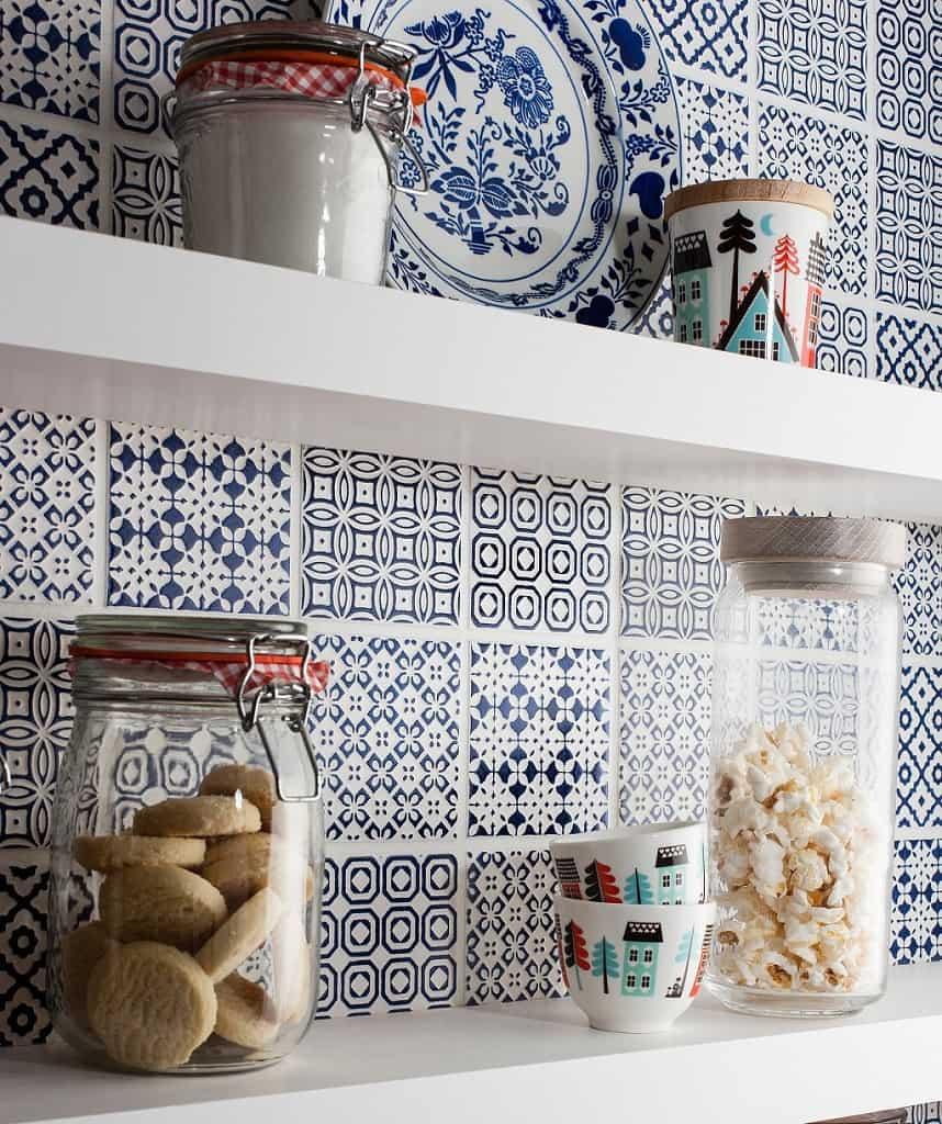 Image Result For Kitchen Wallpaper That Looks Like Tile