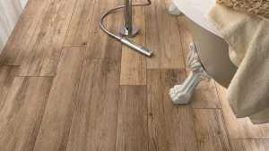 Wood Look Tile: 17 Distressed, Rustic, Modern Ideas