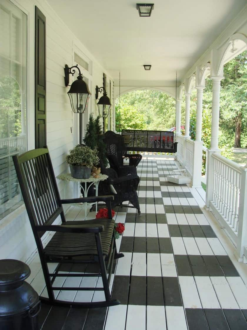 Simple Front Porch