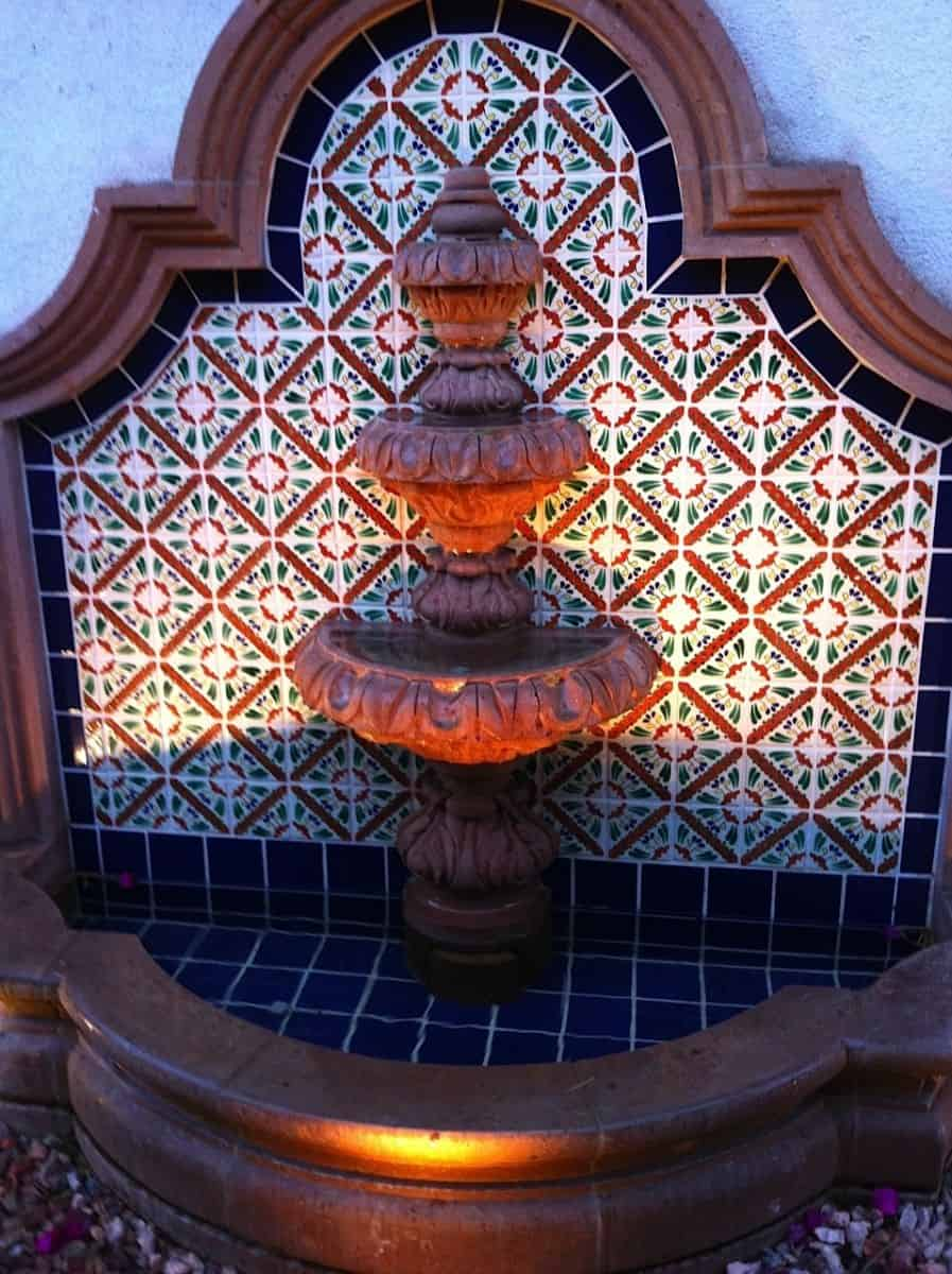 Wall Tile Fountains Mexican