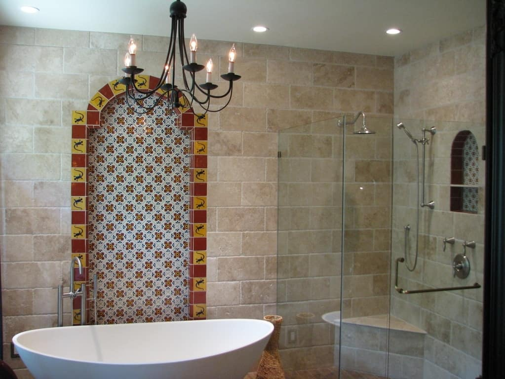 Ideas Kitchen Walls Instead Tiles