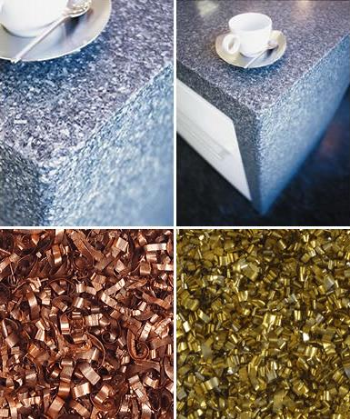 Alkemi Recycled Countertops Renewed Materials From Green And Beautiful