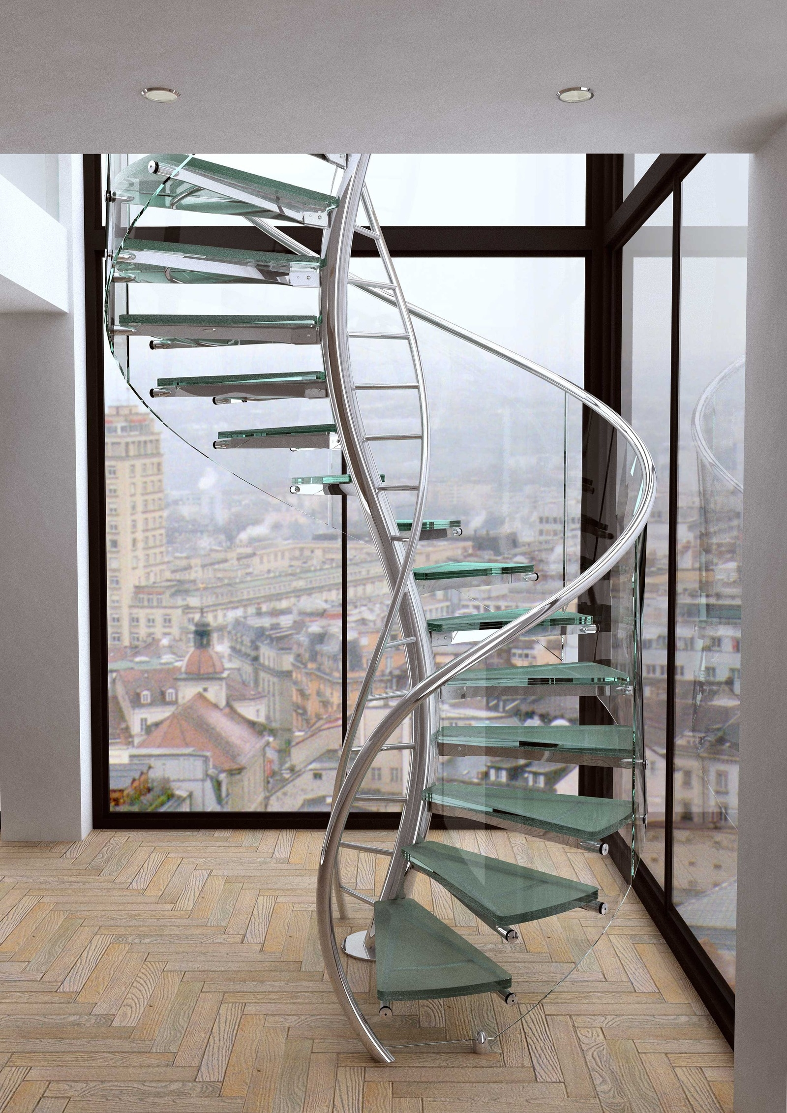 Unique And Creative Staircase Designs For Modern Homes   Modern Staircase Designs For Homes   Spiral   Steel   Minimalist   Concrete   Awesome