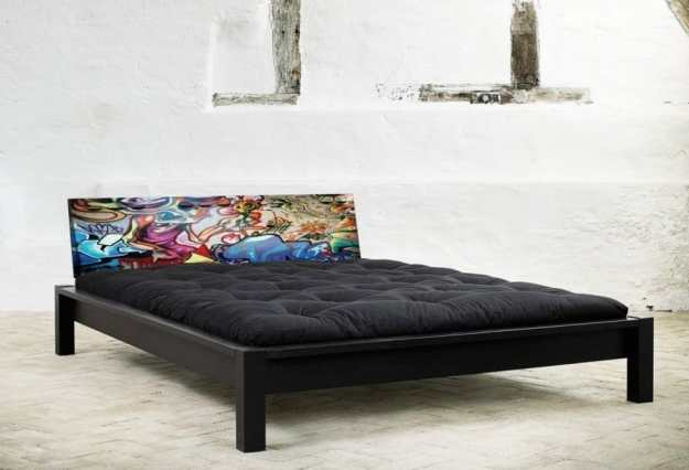 awesome metal rock bed headboards from design folia