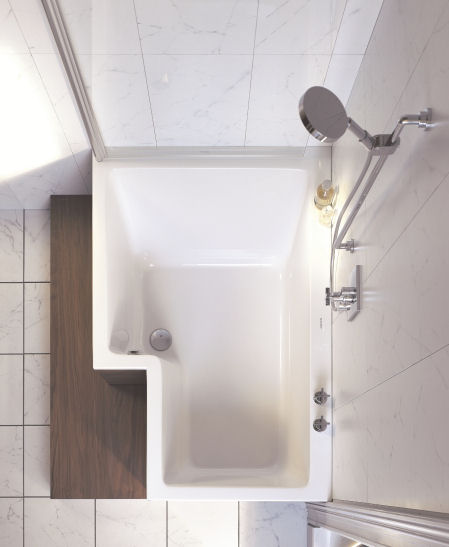 Duravit Seadream Shower And Bathtub Combo The Dream Combination Shower And Bath In One