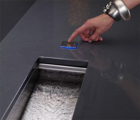 Kohler Crevasse Prep Sink Integrated Garbage Disposal