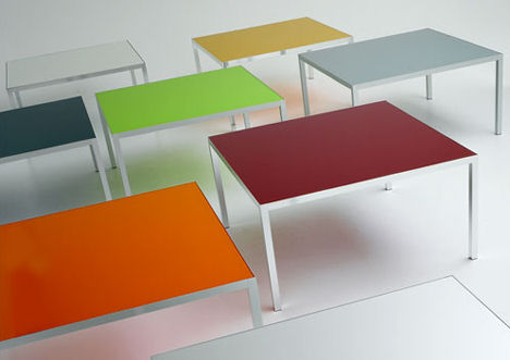 Colors Table From MDF Italia