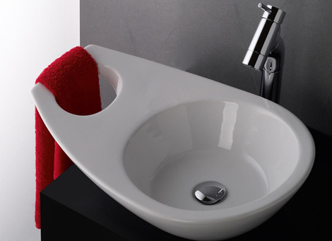 Cool Bathroom Sinks   recycled sink by Sanindusa sanindusa washbasin join 2 Cool Bathroom Sinks recycled sink by Sanindusa