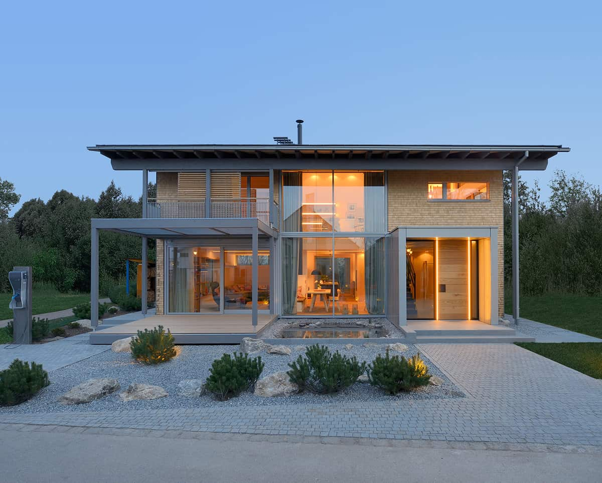 Smart House By Baufritz First Certified Self Sufficient