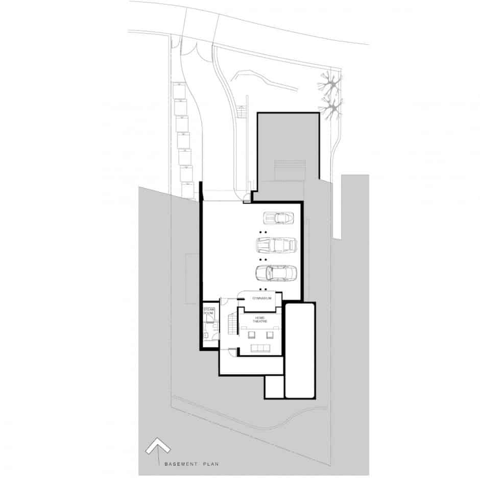 House With Outdoor Spiral Staircase Leading To Rooftop Deck | Round Staircase House Plans | Beautiful | Small House | Exterior | Dimension | Stair Outside