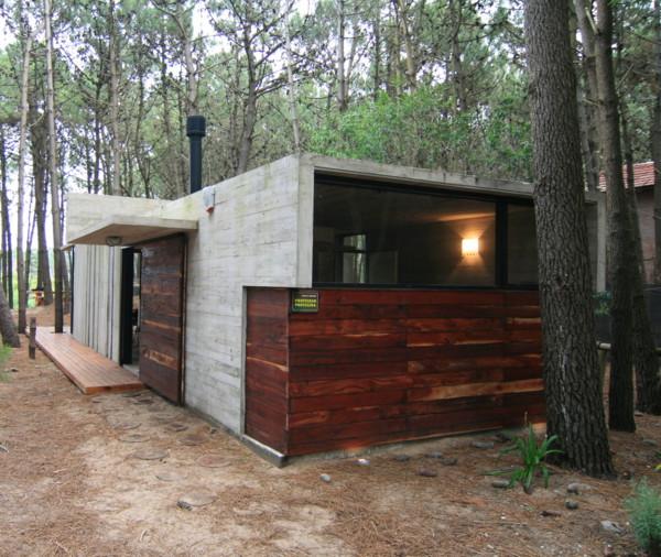 Vacation House Design Rustic Concrete Cottage Built For Minimal Maintenance