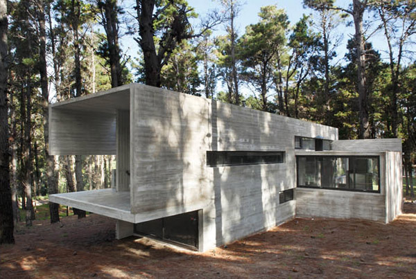 Contemporary Concrete Cottage Where Man And Nature Collide