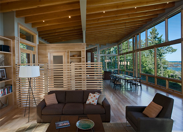 Lake Cabin Design With An Amazing Open Concept Layout