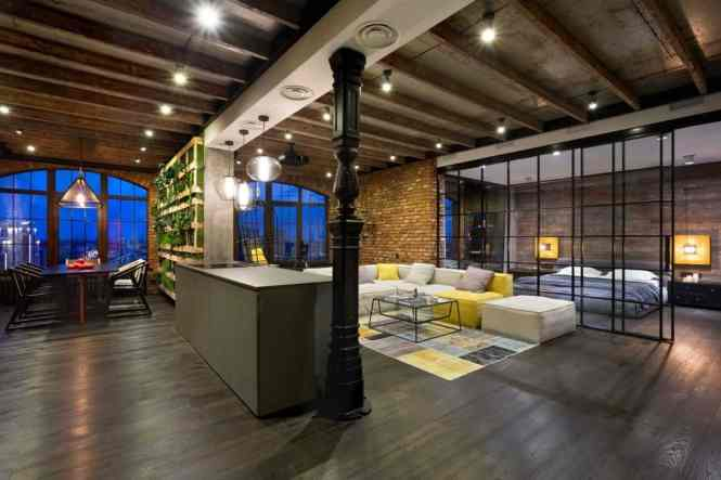 Warehouse Style Loft With Stunning Visual Eal