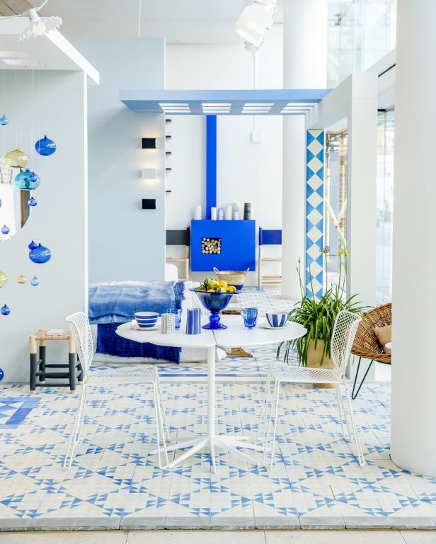 white floor tile idea by reclaimed tile