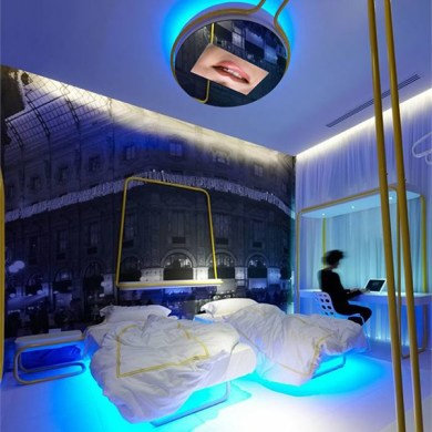 Dramatic Bedroom Designs by Simone Micheli