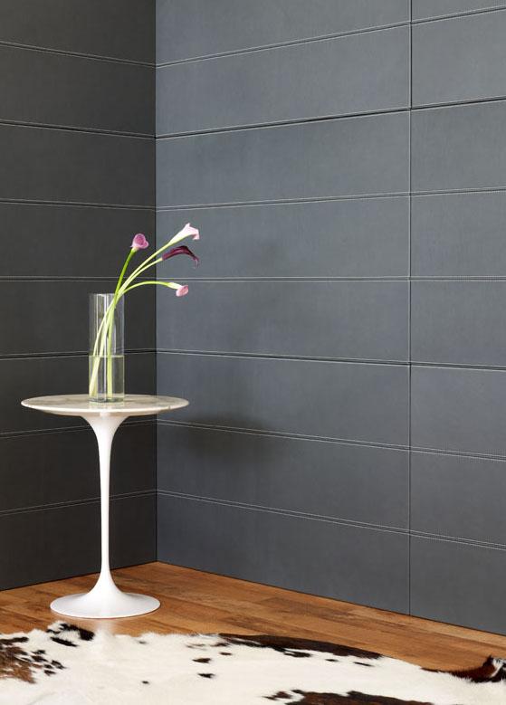 Leather Panels Interior Design By Spinneybeck