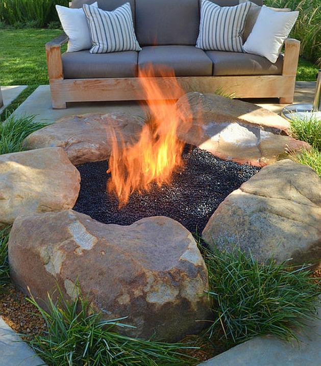 Square Fire Pit Ideas