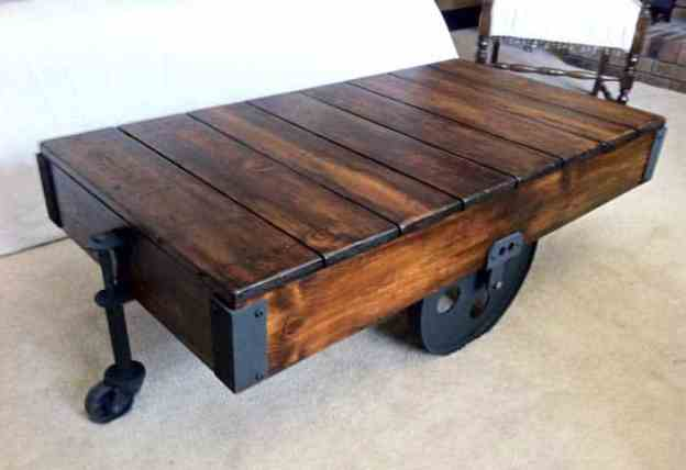 5 creative diy wood coffee table ideas
