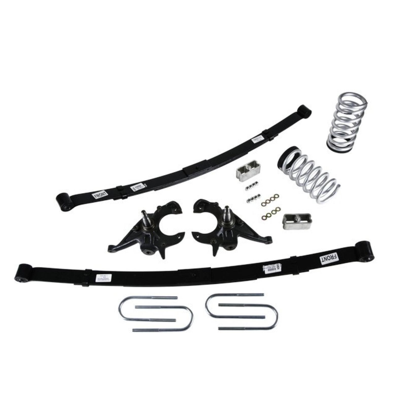 Belltech 616 Lowering Kit For 82 04 Chevrolet S10 Gmc S15
