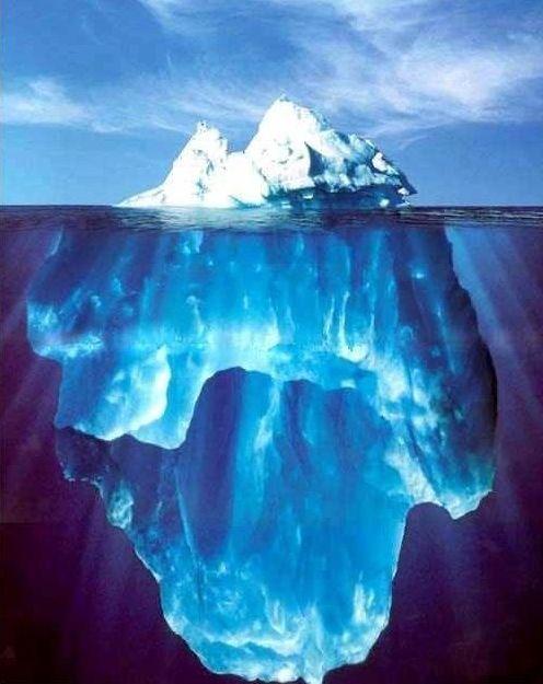 Buzdağının Görünen ve Görünmeyen Kısmı