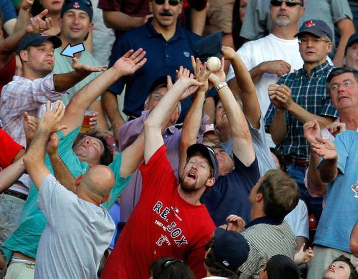 Beyzbol Sizce Tehlikesiz mi?(24 Fotograf)